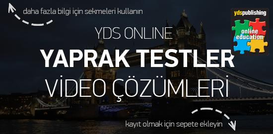 YDS Online Dersler