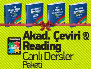 Akademik Çeviri & Reading