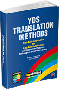 YDS Translation Methods Kitabı